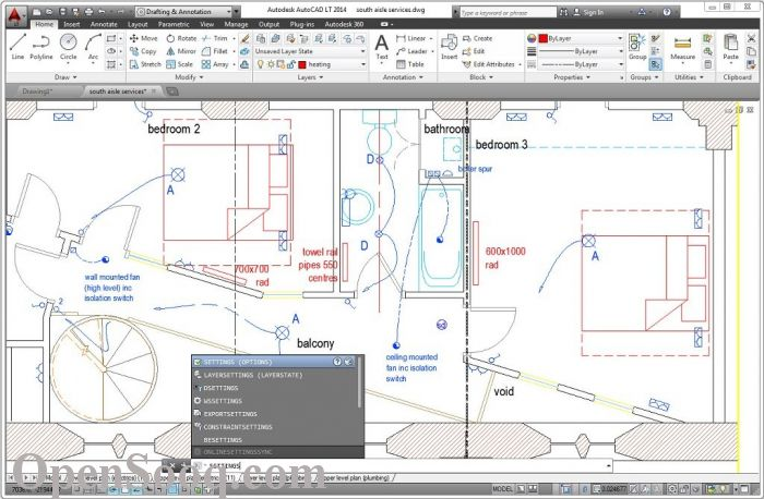 You have to be. Autocad 2006 wont work with 64 bit. Looks like only autoc